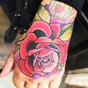a9a242875 Red Rose tattoo by Matt Webb | Post 16481