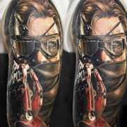 Metalgearsolid Tags Tattoo Ideas World Tattoo Gallery
